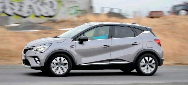 ?? MYNDIR/TRYGGVI ÞORMÓÐSSON ?? Nýr Renault Captur PHEV er snarpur af stað og lipur í akstri.