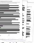 ??  ?? The redacted report.
