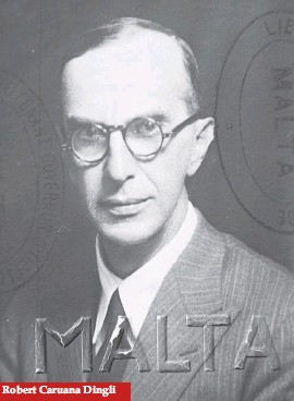 ??  ?? Robert Caruana Dingli