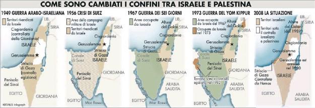 Cartina Israele Palestina.Israeliani E Palestinesi Chi Ha Ragione E Chi Torto Pressreader