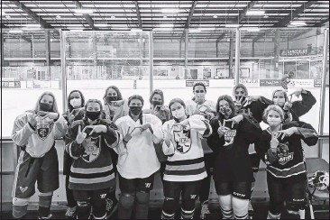 ?? LILY ESPINO ?? The newly founded women's ice hockey team at Virginia Tech, comprising of long-time players and newcomers, plans to begin play in the Roanoke Developmental Hockey League, but a women-centric league could come next.