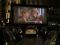 ?? FOTO RR ?? When Harry Met Sally op de drive-in cinema.