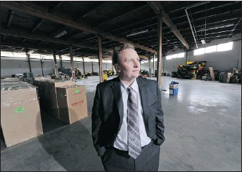 ?? GLENN BAGLO — PNG ?? Martin Wyant, CEO of SHARE Society, is pleading with the local business community to help his Christmas hamper charity find new warehouse space.