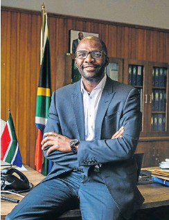 ?? Picture: Cebisile Mbonani ?? 'Fees Must Fall' promises are coming home to roost, says NSF CEO Mvuyisi Macikama.