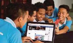 ??  ?? PENYEDIAAN Internet jalur lebar kepada rakyat selaras matlamat NCP.