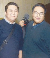 ??  ?? Jowell Juanillo and Jau Blauta