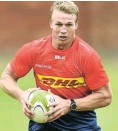 ??  ?? Pieter-Steph du Toit was due to make his long awaited return from injury next week.