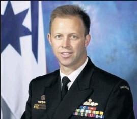 ??  ?? In line: Australia's future Chief-of-Navy, Rear Admiral Michael Noonan.