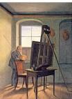 """?? FOTO: JÖRG P. ANDERS ?? """"Caspar David Friedrich in seinem Atelier""""stammt von Georg Friedrich Kersting."""