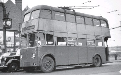 ??  ?? Wolverhampton Corporation Sunbeam trolleybus