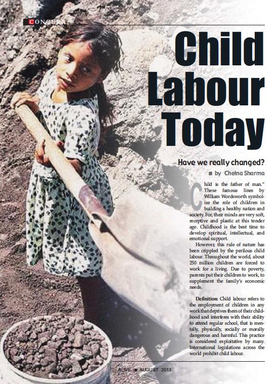 Essay writing on child labour