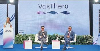 ??  ?? Salud. Vaxthera ya tiene en estudio una vacuna contra las diversas variantes de covid.