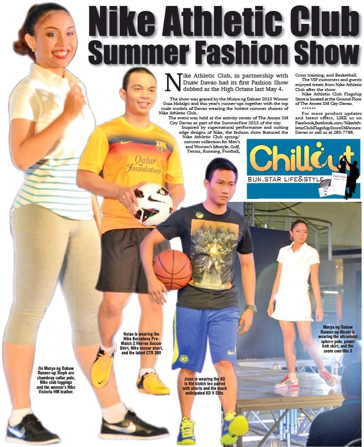 Buscar rescate admirar  Nike Athletic Club Summer Fashion Show - PressReader