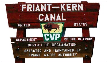 ?? RECORDER FILE PHOTO ?? Congressman Jim Costa and Senator Dianne Feinstein have introduced legislation to provide more funding for repairs for the Friant-kern Canal.