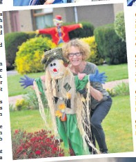 ??  ?? (Top) MarchGive and Take boxes in Perth were part of the community response to COVID-19 (Above) MayTommy Wright left his role as St Johnstone manager (Left) MayA scarecrow festival helped lift spirits in Bridge of Earn (Below) AprilA fire devastated the Errol reed beds