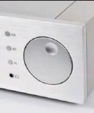 ??  ?? TEUFELSRAD: Der schicke Lautstärkeregler lässt sich fein gerastert super bedienen. Doch Vorsicht: Der CS 2.3 kann höllisch laut spielen.