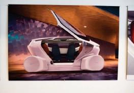 ??  ?? Den självkörande bilen Sango ska tillverkas i Trollhättan. Därtill ska även den sedan-liknande bilen HN6 produceras, liksom Sono Motors Sion och delar av samarbetsbilen med Koenigsegg.