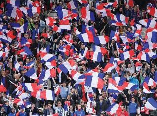 ??  ?? 20 000 supporters français sont attendus à Kazan, le 16 juin, pour le premier match des Bleus au Mondial.