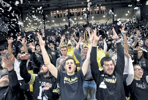 ?? File photo ?? The Coors Events Center at CU Boulder will open up to full capacity for fans in the fall.