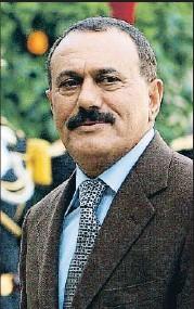 ?? PATRICK KOVARIK / AFP ?? Ali Abdulah Saleh, en París en el 2006