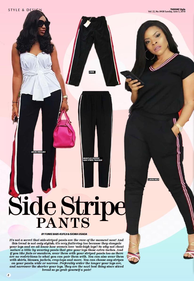 Pressreader Thisday Style 2018 06 03 Side Stripe Pants