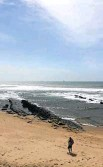 ?? Picture: Suppled ?? The Granny's Pool launch site for ski boats on the beach at Umhlanga.