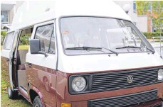 ?? FOTO: FLORIAN SCHUH/DPA ?? Suchende sollten ein gebrauchtes Wohnmobil, hier ein VW Bulli, aussuchen und besichtigen wie eine Wohnung.