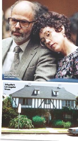 ??  ?? Schaeffer's parents, Benson and Danna. Schaeffer's Los Angeles home.