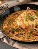 ??  ?? Roast Chicken and Chorizo Paella