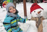 """??  ?? Kalte Pfoten, klamme Hände & frische Schneemänner: """"Krone""""-Fotografen knipsten fleißig im Winterwunderland."""