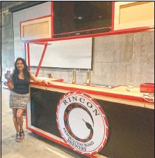 ?? (Indian Country Today/Sean Curry) ?? Rincon Economic Development chairwoman Ruth-Ann Thorn said the Rincon Reservation Road Brewery aims to educate beer lovers about the Rincon Band of Luiseno Indians and inspire young tribal members with a passion for hops.