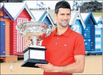 ?? DAVE HUNT / EFE ?? Situación. Novak Djokovic sigue imponiendo su ley en el mundo del tenis.