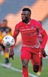 ??  ?? AUGUSTINE Kwem of Chippa United.   MUZI NTOMBELA Backpagepix