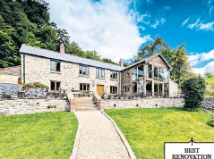 ??  ?? BEST RENOVATION Self-builder George Bannister transformed two agricultural buildings in Somerset to create Otterhead House and a one-bedroom holiday let. He let the annexe to help finance the £310,000 build, doing the work almost entirely on a DIY basis.
