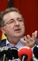 ?? FOTO BELGA ?? Brussels minister-president Rudi Vervoort.