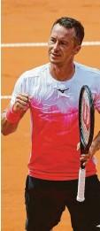 ?? Foto: dpa ?? Philipp Kohlschreiber spielt das olympi‰ sche Tennisturnier.