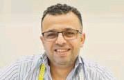 ??  ?? Hussam Nofal, 47, Kista, skräddare i Sigma centrum: – Meningen med livet är att ta hand om varandra, skydda varandra och ge kärlek.