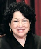 ??  ?? Justice Sonia Sotomayor. Photo: Erin Schaff/EPA-EFE