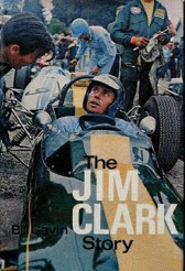 ??  ?? Below: Bill's highly rated authorized biography of Jim Clark
