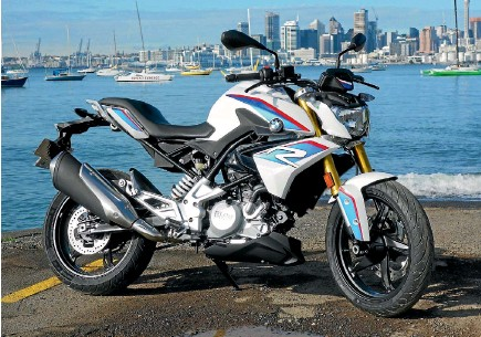 ??  ?? G 310 R is key to BMW Motorrad's plan to build more than 200,000 motorcycles per annum.
