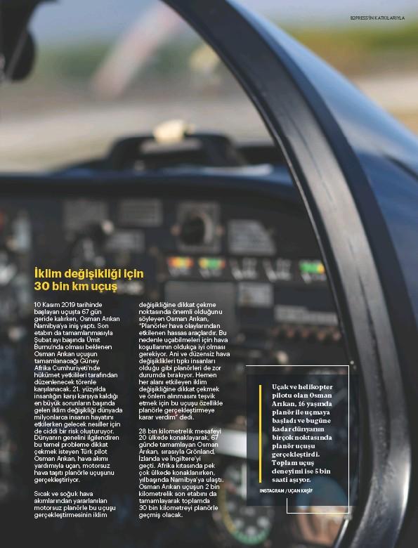 ?? INSTAGRAM / UÇAN KAŞİF ?? Uçak ve helikopter pilotu olan Osman Arıkan, 16 yaşında planör ile uçmaya başladı ve bugüne kadar dünyanın birçok noktasında planör uçuşu gerçekleştirdi. Toplam uçuş deneyimi ise 5 bin saati aşıyor.