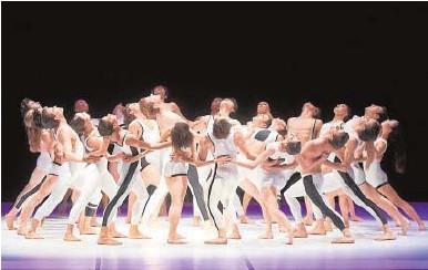 ?? // ABC ?? La compañía Béjart Ballet Lausanne, en el Castillo de Peralada