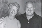 ?? CONTRIBUTED PHOTO ?? Evelyn Butler Berry, left, with her late husband, Oliver.