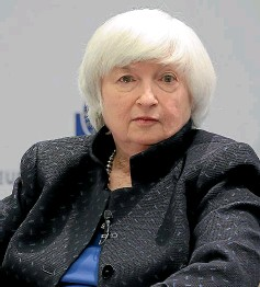 ?? GETTY IMAGES ?? Well-re­spected for­mer Fed­eral Re­serve chair Janet Yellen is Joe Bi­den's nom­i­na­tion for trea­sury sec­re­tary.