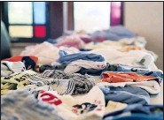 ??  ?? Wagner estimates 40 bags of clothing are donated every week.