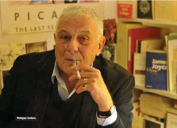 ??  ?? Philippe Sollers.
