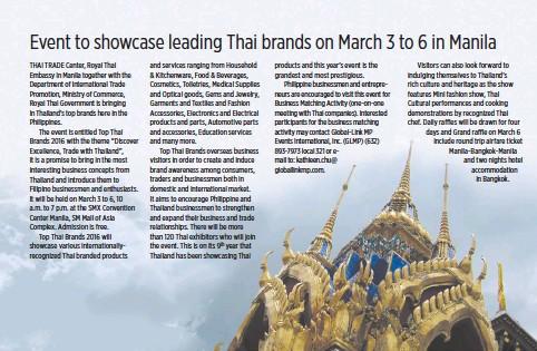 PressReader - Business World : 2016-02-22 - Event to