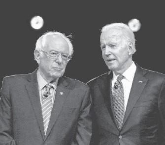 "?? ASSOCIATED PRESS ?? Top Republican lawmakers are accusing President Biden of enacting a far-left agenda. One senator said he sees Sen. Bernard Sanders' ""fingerprints"" on Mr. Biden's policies."