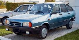 ??  ?? Поздняя, 1990-х годов Dacia 1325 Liberty с кузовом хэтчбек.