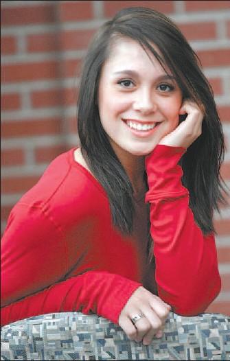 ?? JOHN LUCAS, THE JOURNAL ?? Sixteen-year-old folk singer Samantha Schultz was nominated for a Canadian Folk Music Award.